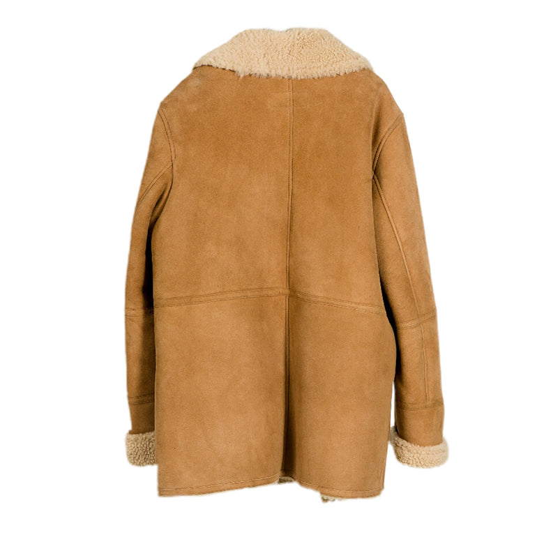 MANTEAU 37 CAMEL SHEEP LEATHER