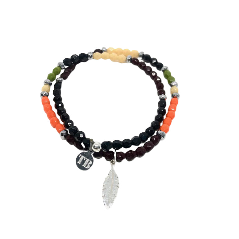 BRACELET COBRA BLACK-TETES BLONDES-Maralex Paris