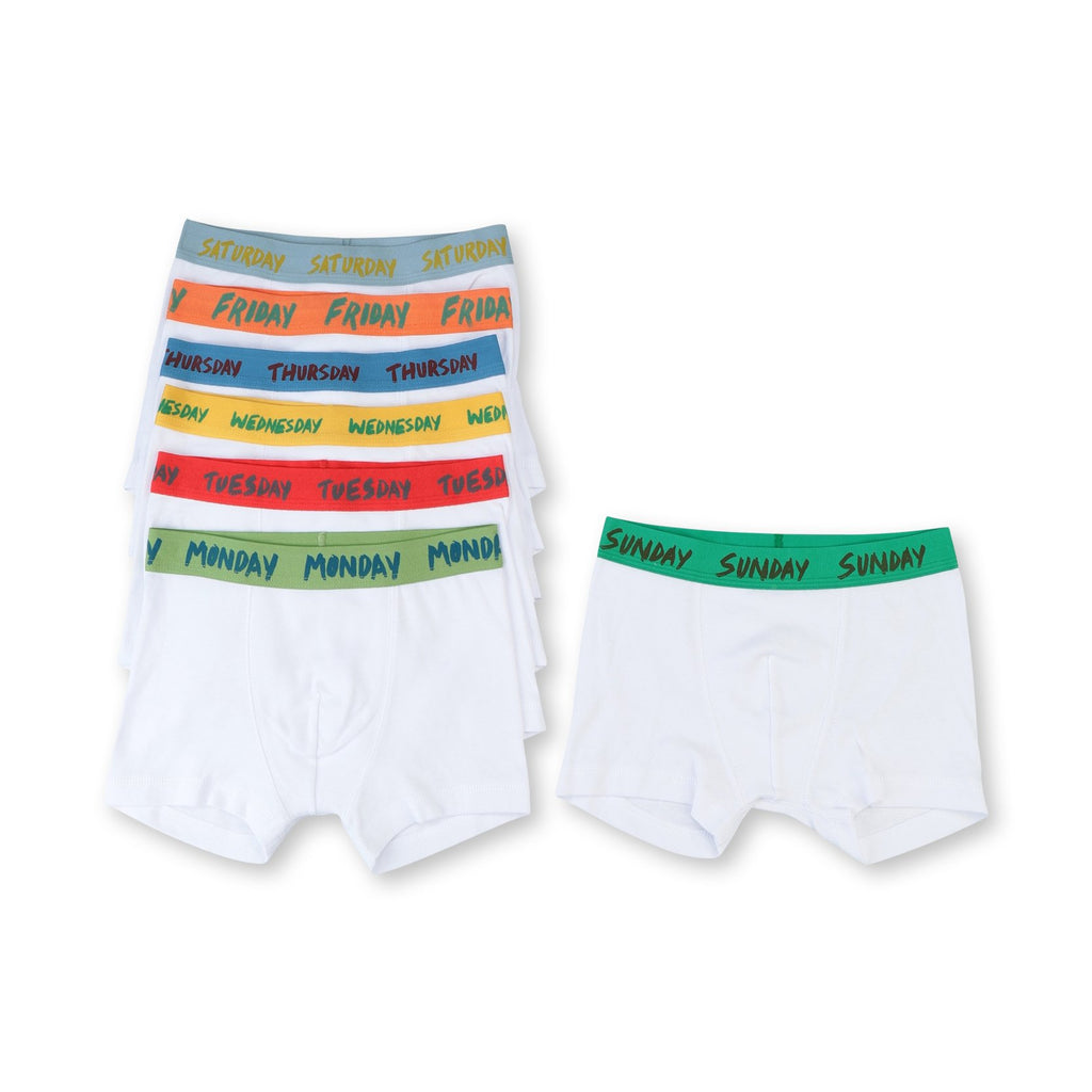 Boxers Days of the Week-STELLA MCCARTNEY KIDS-Maralex Paris