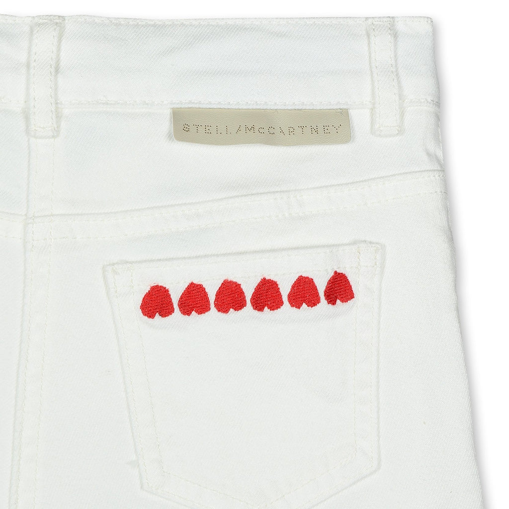 Short en Jean Hearts-STELLA MCCARTNEY KIDS-Maralex Paris