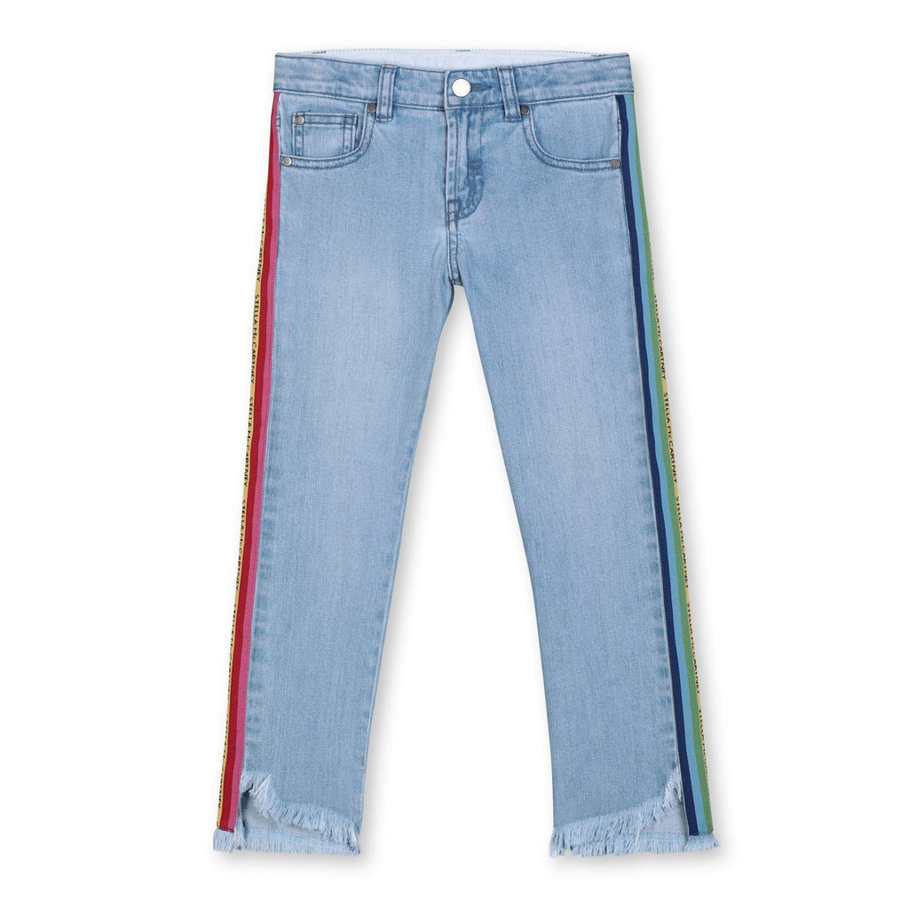 Jean Multicol Tape-STELLA MCCARTNEY KIDS-Maralex Paris