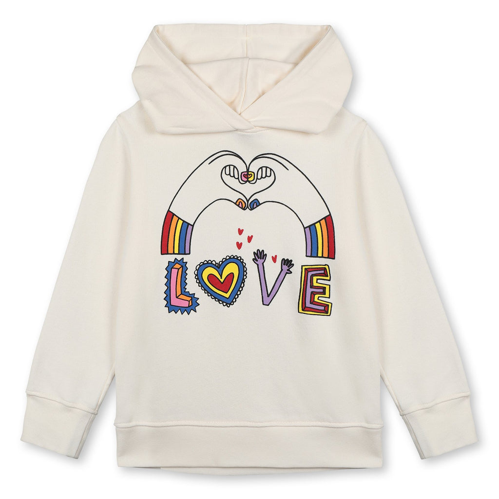 OVER HOODED SWEAT LOVE HANDS