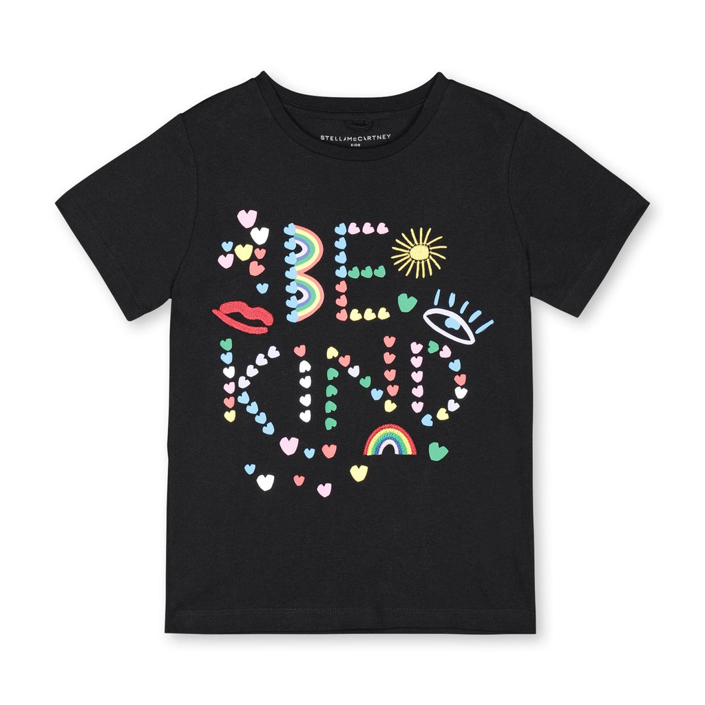 T-Shirt Be Kind-STELLA MCCARTNEY KIDS-Maralex Paris
