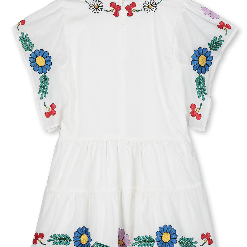 Robe Splash Flowers-STELLA MCCARTNEY KIDS-Maralex Paris