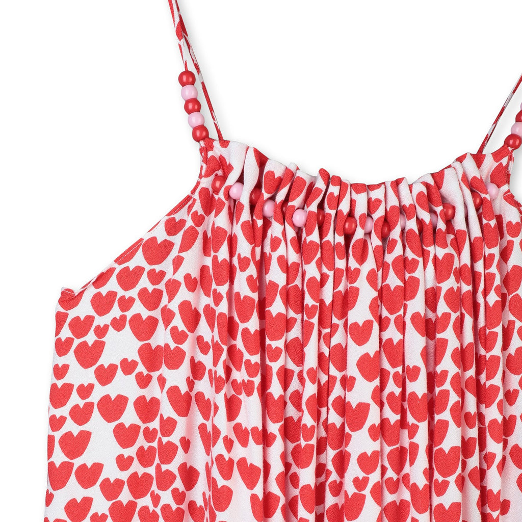 Hearts Dress-STELLA MCCARTNEY KIDS-Maralex Paris