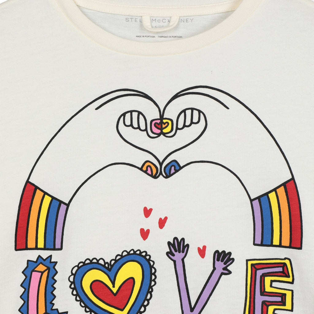 T-SHIRT LOVE HANDS