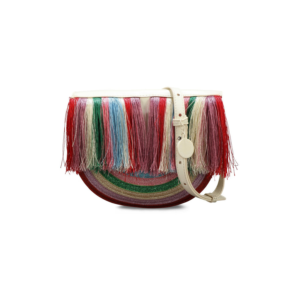 Girls Glitter Rainbow Bag-STELLA MCCARTNEY KIDS-Maralex Paris