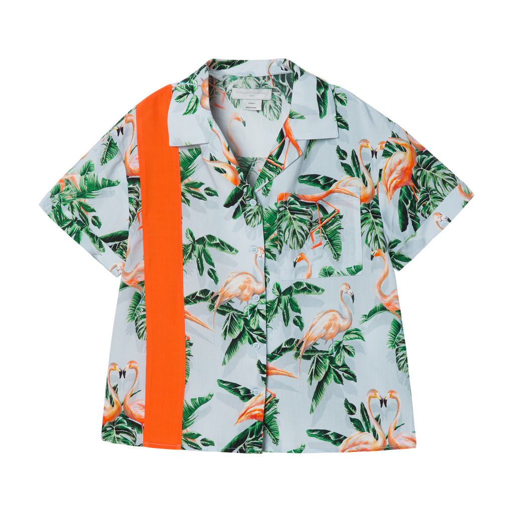 Painty Flamingo Shirt (4923276099647)