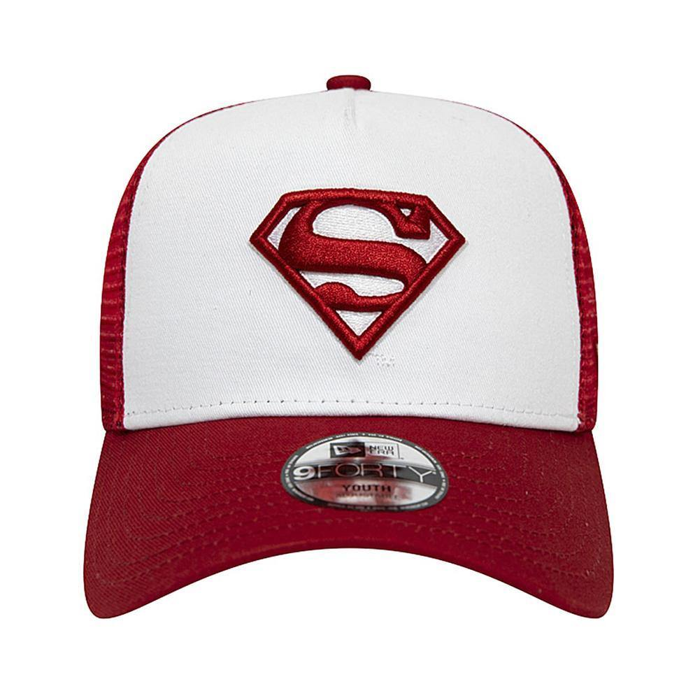 9FORTY TRUCKER SUPERMAN-CHAPEAUX-NEW ERA-Maralex Paris