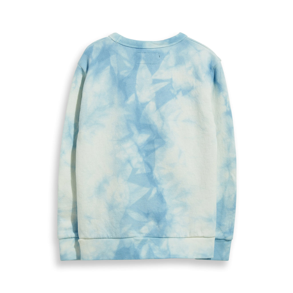 Sweat Brian Pale Blue Tie & Dye