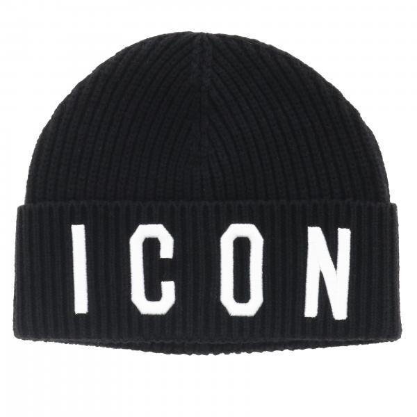 ICON HAT BKL-DSQUARED2-Maralex Paris