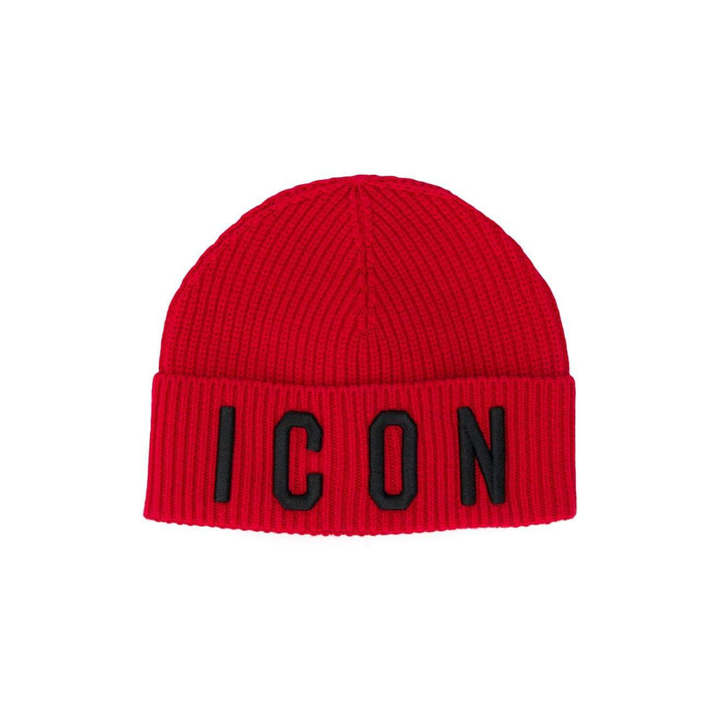 ICON HAT RED-DSQUARED2-Maralex Paris
