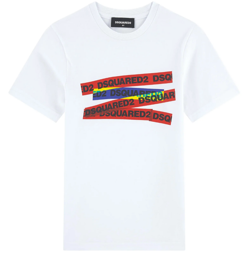 DSQUARED2 WHITE TEE