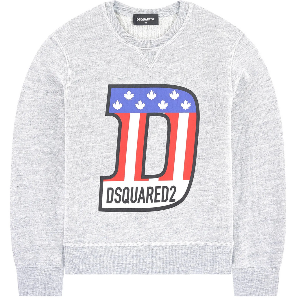 Sweatshirt Flag-DSQUARED2-Maralex Paris (4446371774527)
