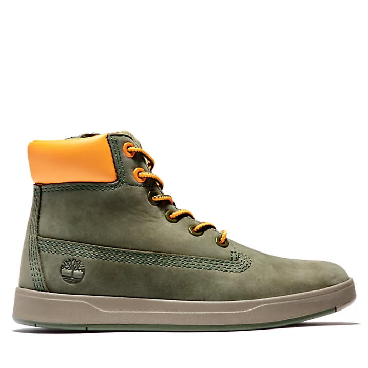 Boots Davis Square Dark Green (4782880555071)