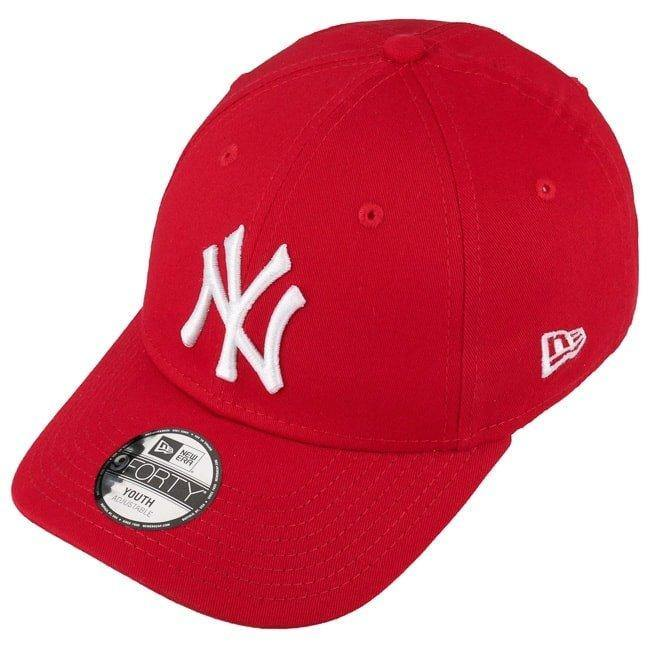 9Forty Kids NY Yankees Red (6544420438079)