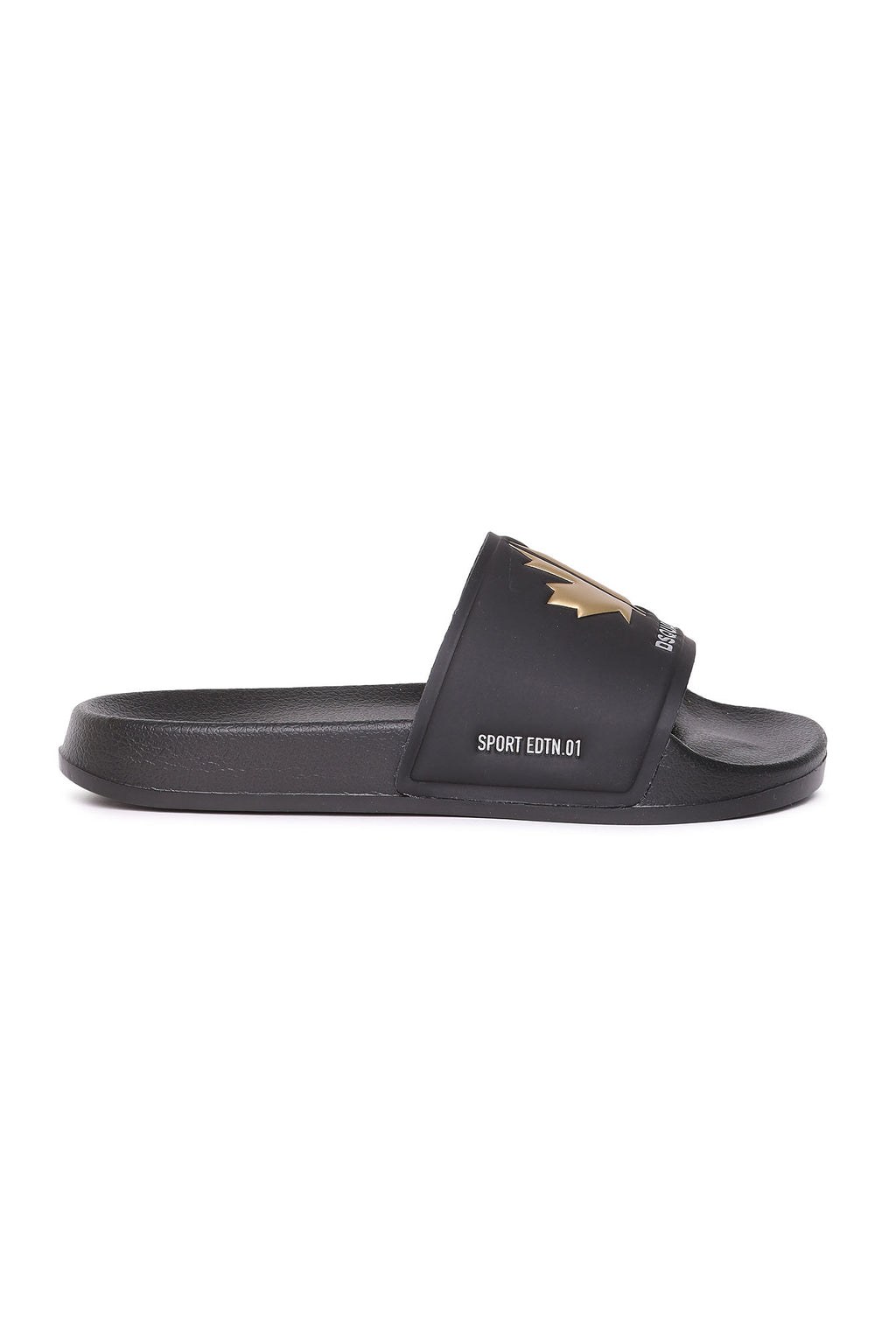 Sandales Slide Black-DSQUARED2-Maralex Paris (4446371348543)