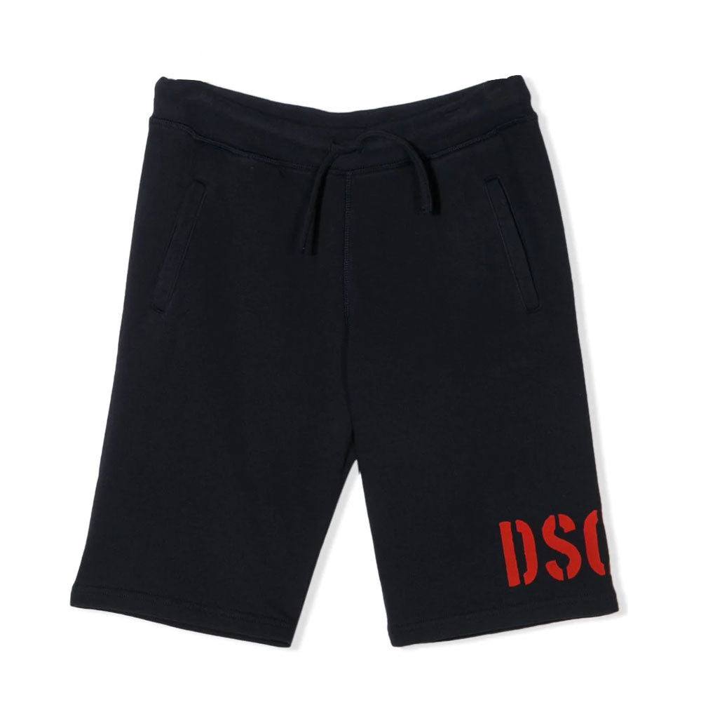 Dsquared² Short Navy-DSQUARED2-Maralex Paris (4487296712767)