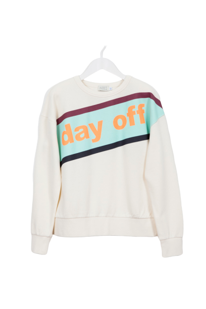 SWEATSHIRT GINGER DAY OFF-INDEE-Maralex Paris