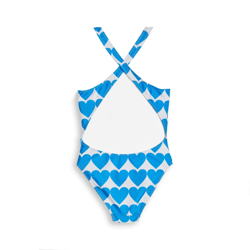Maillot de Bain Olivia Pop Blue Heart
