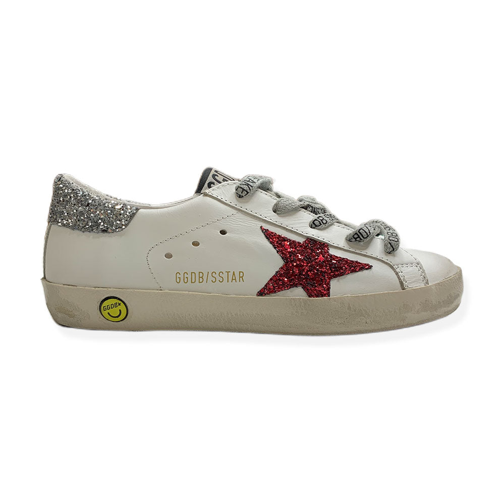 Baskets Superstar Glitter-GOLDEN GOOSE-Maralex Paris