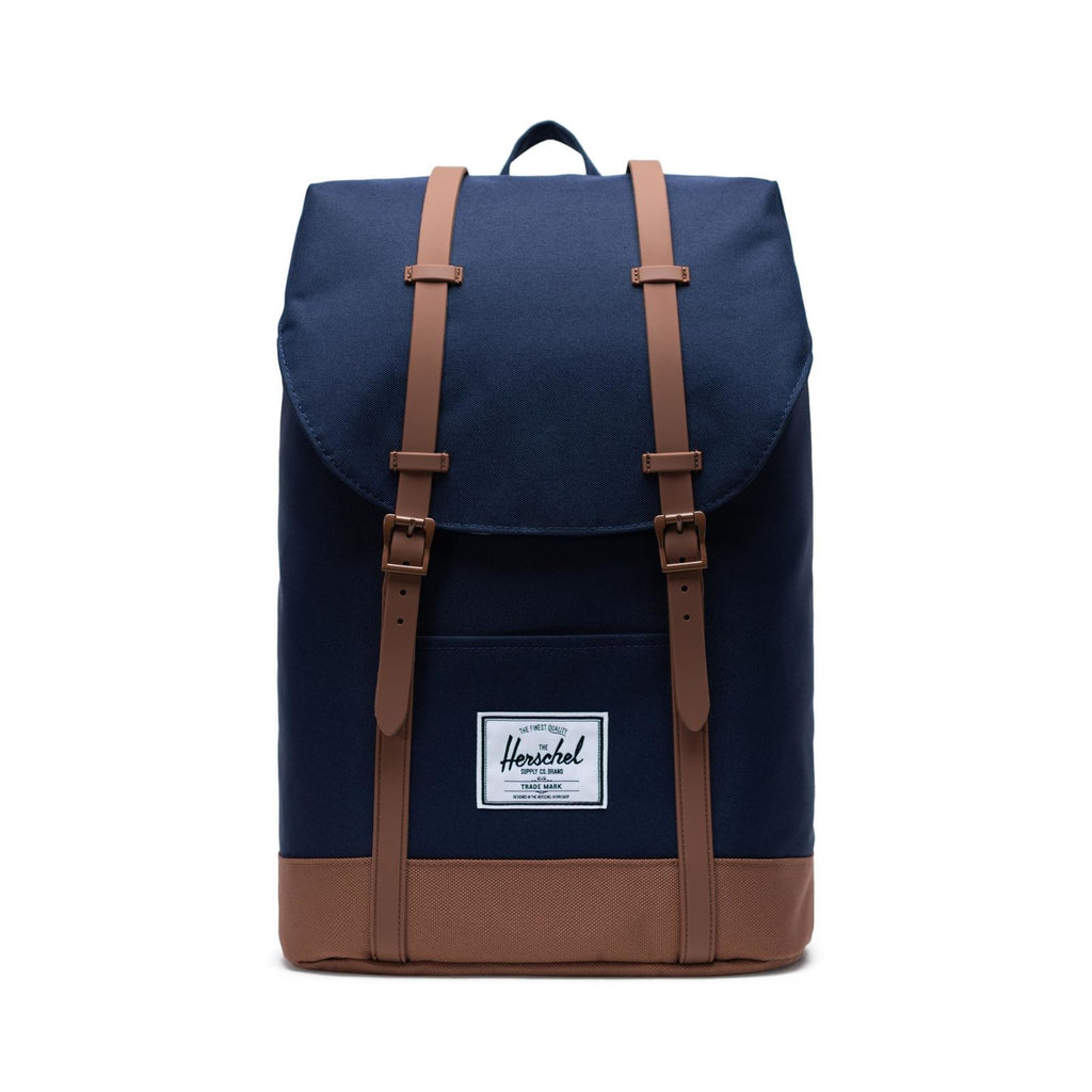 Sac à dos Retreat peacok saddle Brown-HERSCHEL-Maralex Paris