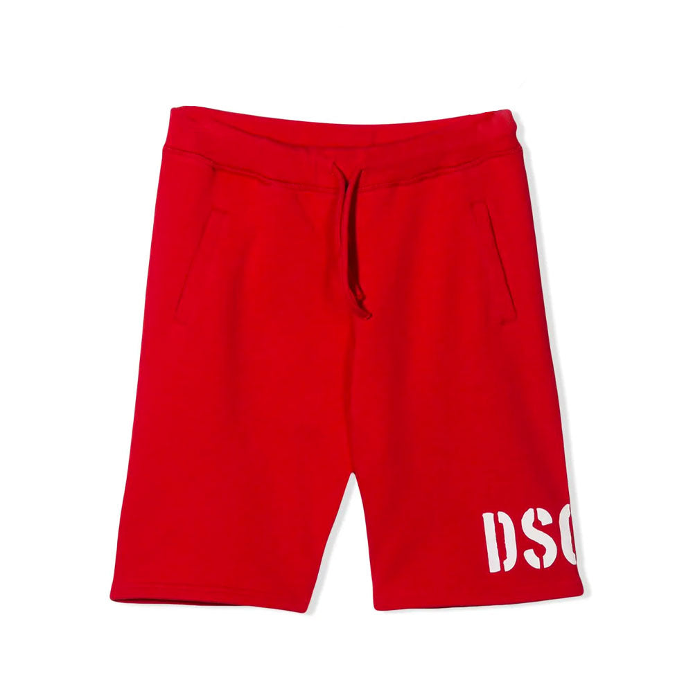 Dsquared² Short Red-DSQUARED2-Maralex Paris (4487296974911)