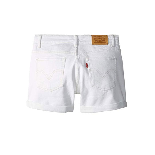 Denim Shorty White