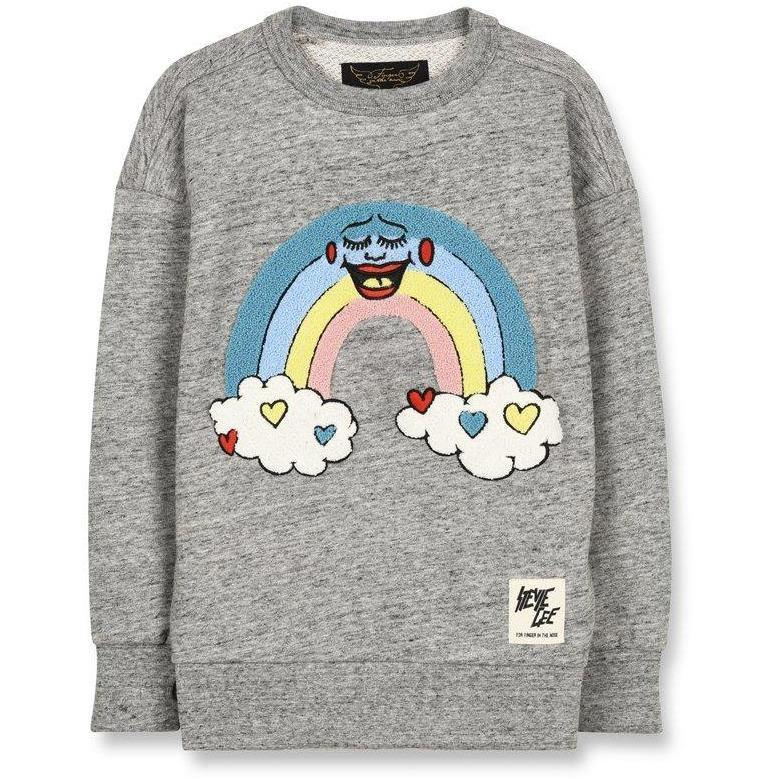 Academy Rainbow Sweatshirt-A trier FASTMAG-FINGER IN THE NOSE-Maralex Paris (1976258035775)