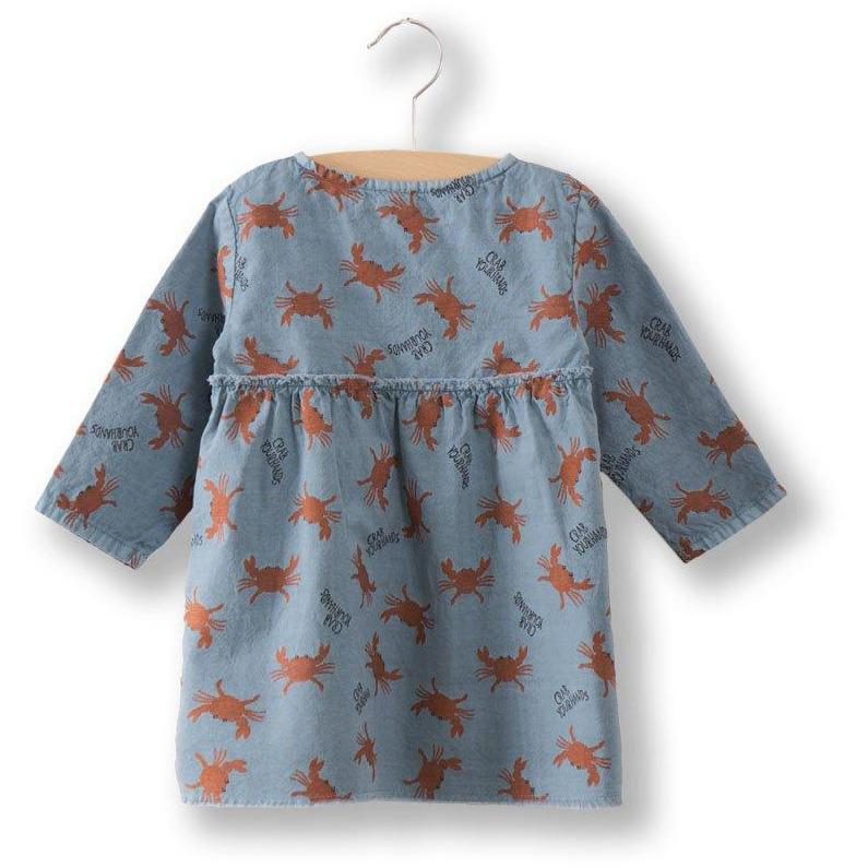 Baby Princess Dress Crab-Bébé fille-BOBO CHOSES-Maralex Paris (1975916068927)