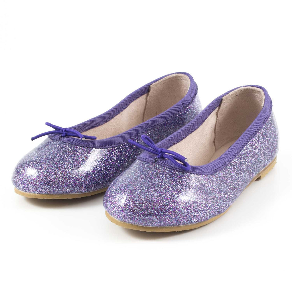 Ballerines Beatrix Violet-Fille-BLOCH-Maralex Paris