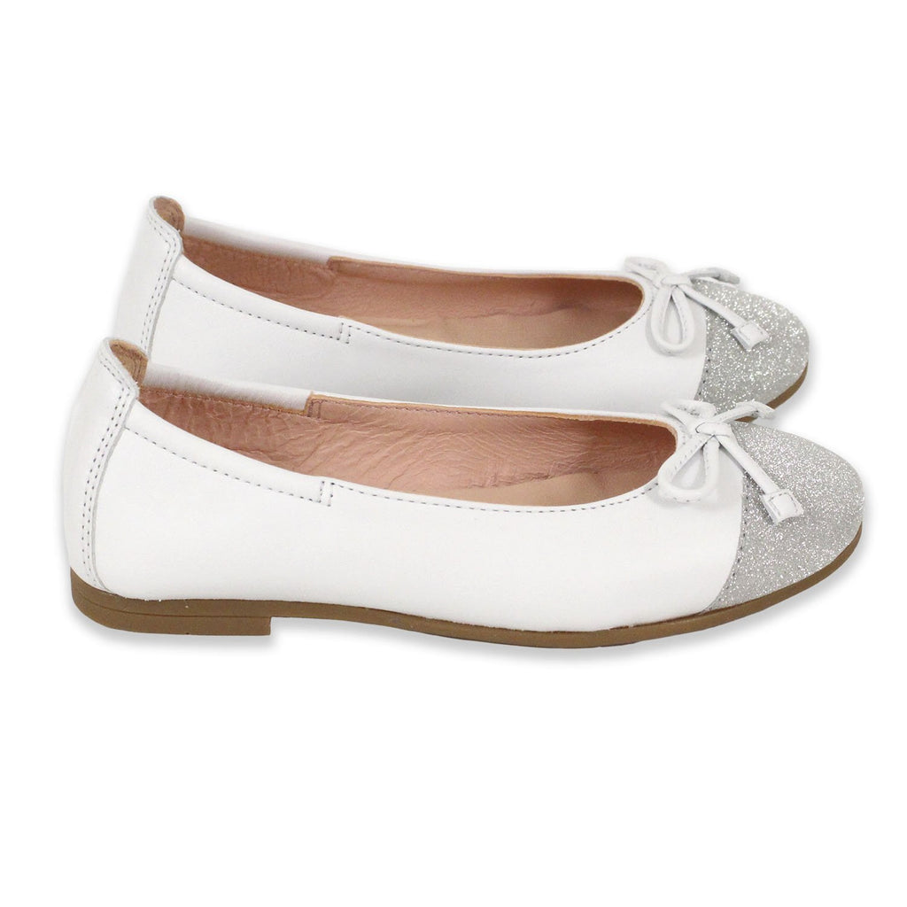 Ballerines Dino White-Fille-UNISA-Maralex Paris