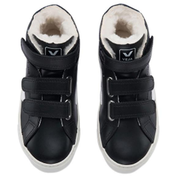 BASKET ESPLAR BLACK FUR-BASKETS & SNEAKERS-VEJA-Maralex Paris