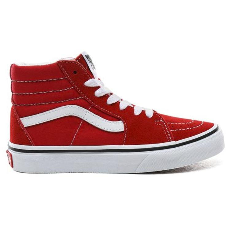 BASKET MONTANTE SK8-HI RED-BASKETS & SNEAKERS-VANS-Maralex Paris