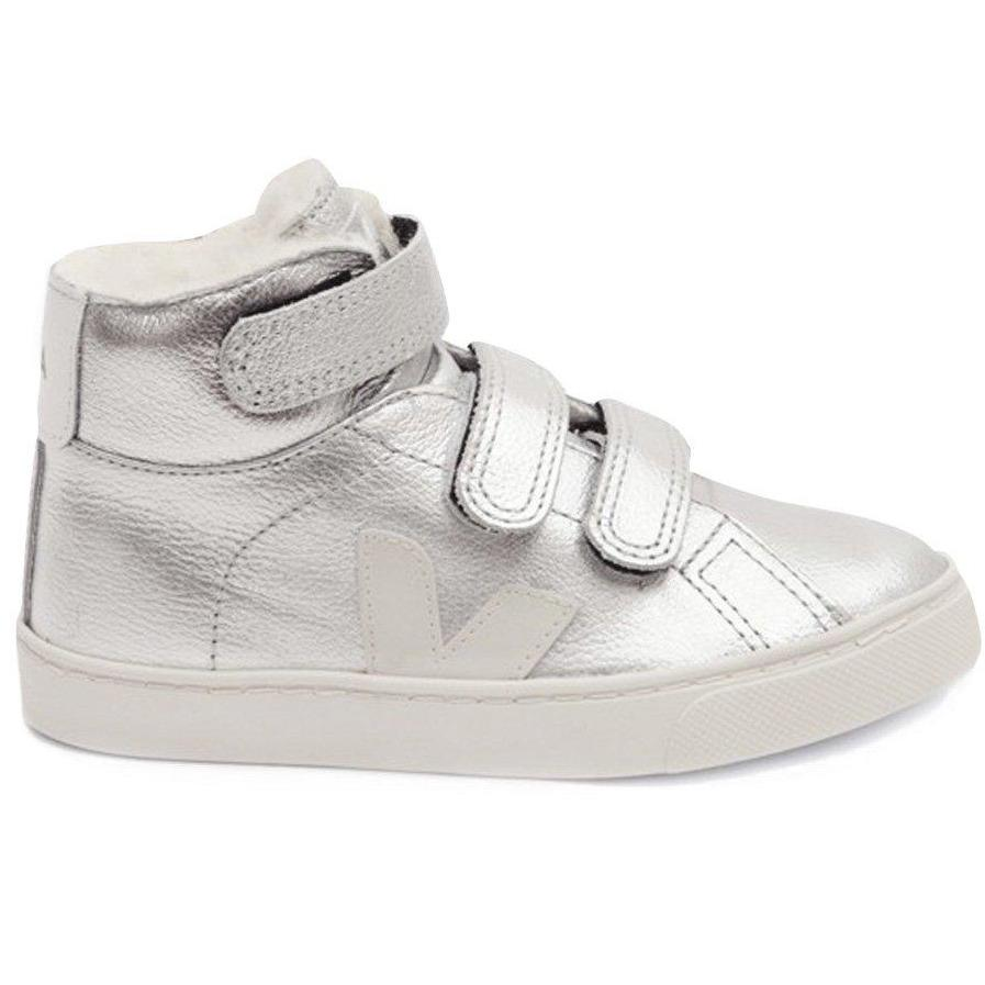 Baskets Esplar Silver Fur-Fille-VEJA-Maralex Paris