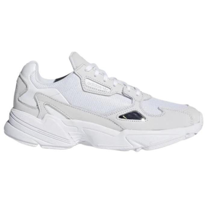 BASKETS FALCON WHITE-BASKETS & SNEAKERS-ADIDAS-Maralex Paris
