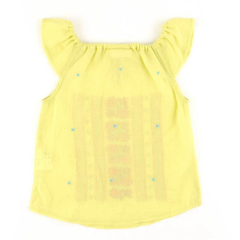 Blouse brodée-Fille-SIMPLE KIDS-Maralex Paris