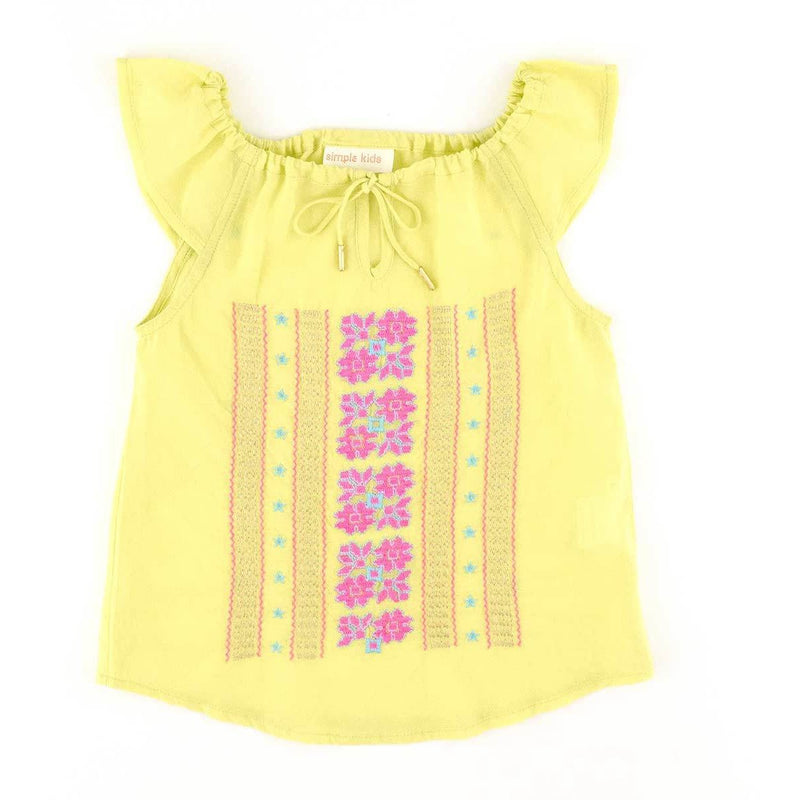 Blouse brodée-Fille-SIMPLE KIDS-Maralex Paris (1975317889087)