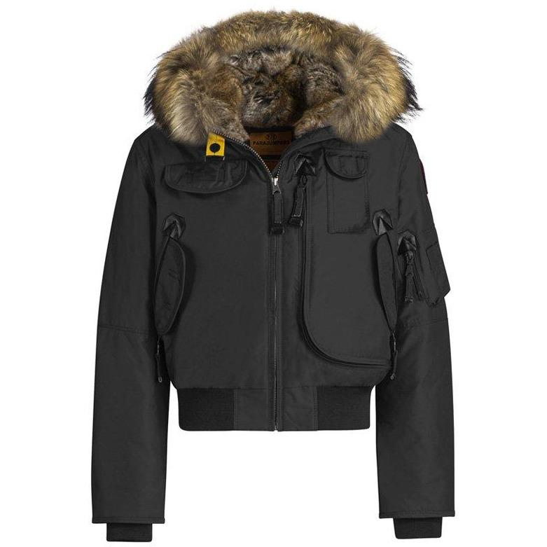 Blouson Gobi Girl Black-Fille-PARAJUMPERS-Maralex Paris