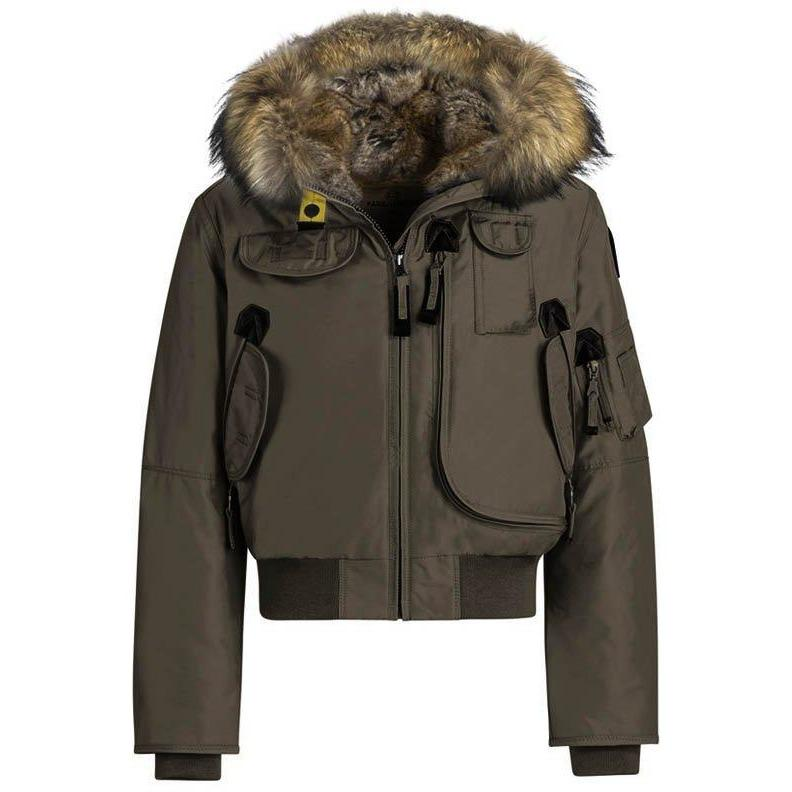 Blouson Gobi Girl Marron-Fille-PARAJUMPERS-Maralex Paris