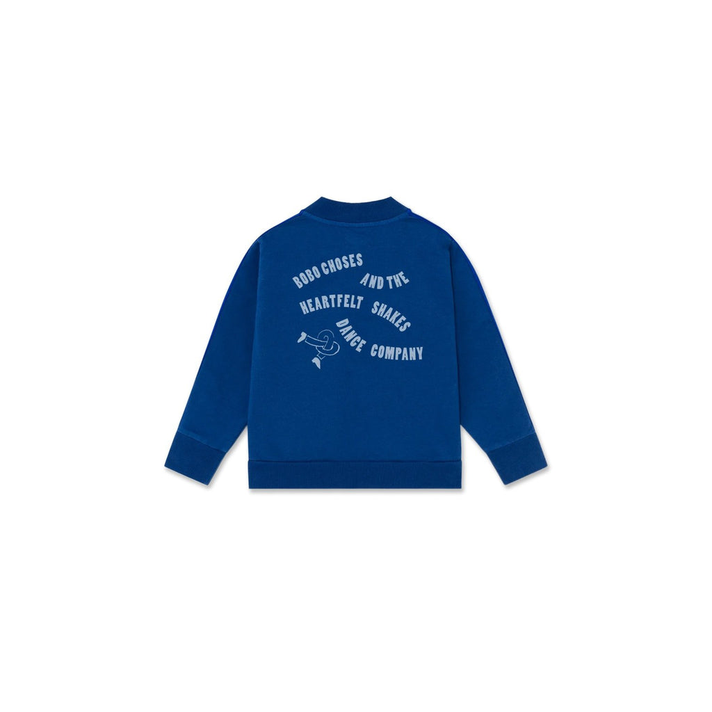 DANCING LEGS ZIPPED SWEATSHIRT-BOBO CHOSES-Maralex Paris