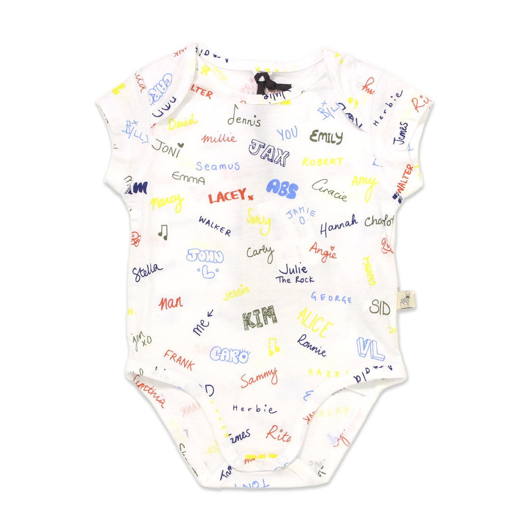 Body Cassidy Names-Bébé fille-STELLA MCCARTNEY KIDS-Maralex Paris