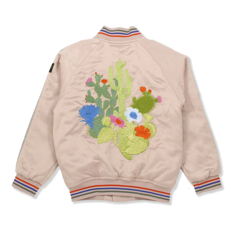 Bombers Chalk Pink Cactus-Fille-FINGER IN THE NOSE-Maralex Paris (1975849353279)