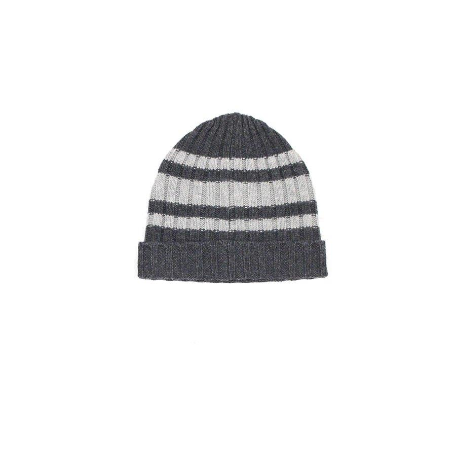 Bonnet Rib Hat Black-Garçon-HARTFORD-Maralex Paris