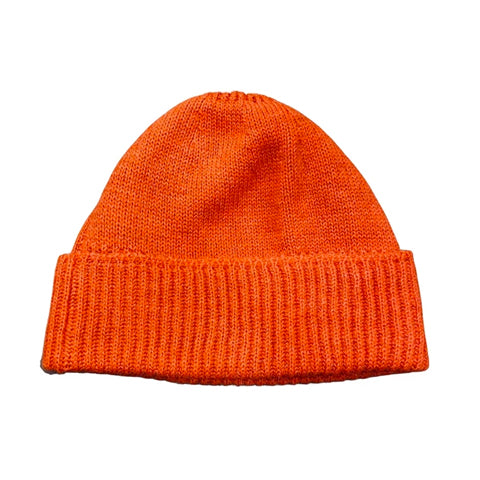 BONNET AGATHE ORANGE-CURLING-Maralex Paris