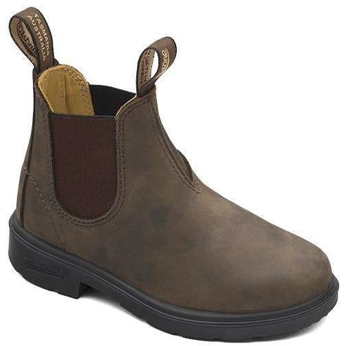 BOOTS BLUNNIES RUSTIC BROWN-BOTTINES & BOOTS-BLUNDSTONE-Maralex Paris