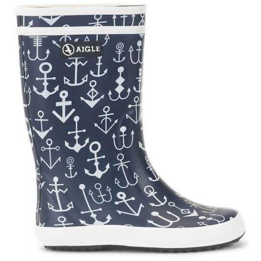 Bottes Lolly Pop Ancres-Fille-AIGLE-Maralex Paris