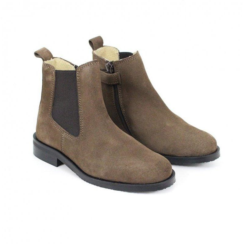 Bottines Kiran Taupe-Fille-MARALEX-Maralex Paris (1976092917823)