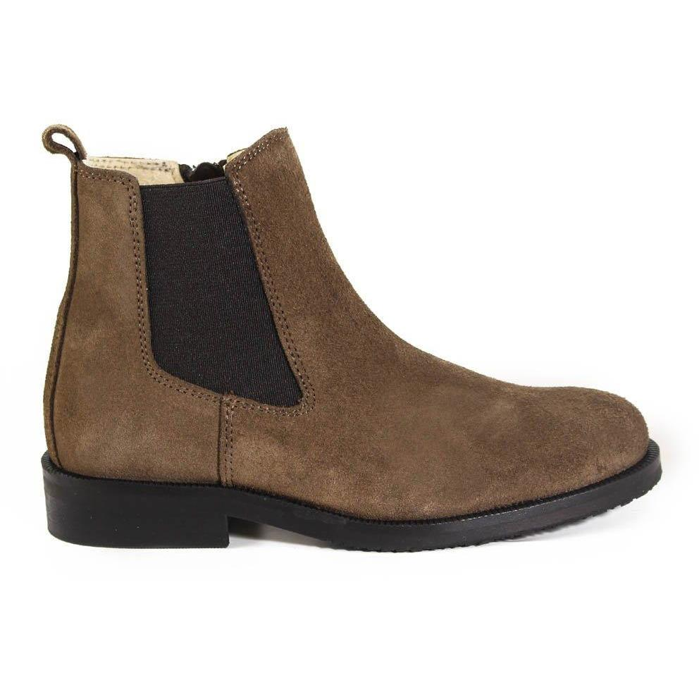 Bottines Kiran Taupe-Fille-MARALEX-Maralex Paris