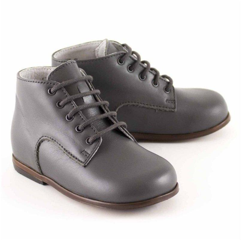 Bottines Miloto Gris-Bébé garçon-LITTLE MARY-Maralex Paris